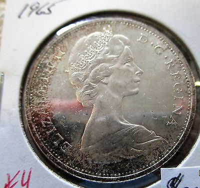 1965 Canada Canadian Silver Dollar Mint State