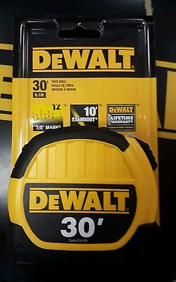 Dewalt Dwht36109 Tape Measure 30 Ft