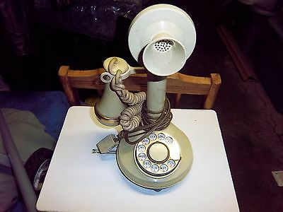 Vintage Western Electric Candlestick Telephone Rotary Dial