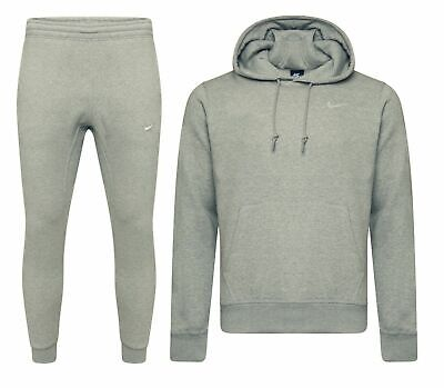 Nike Mens Foundation 2 Tracksuit Fleece Hooded Jogging Tapered Bottoms SIZE XL