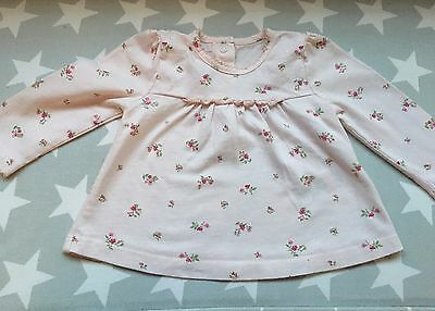 Little White Company Baby Girl Floral Pyjamas 0-3 Months