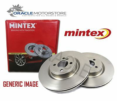 New Mintex Front Brake Discs Set Braking Discs Pair Genuine Oe Quality Mdc1370