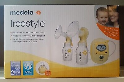 Sealed Medela Freestyle Double Electric Breast Pump With Calma RRP £329