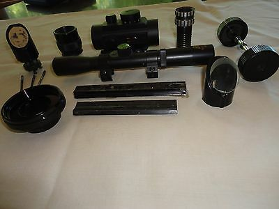 Various telescope parts & accessories-astronomy-finder scopes-scope mount, etc.