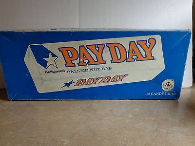 Vintage PayDay Salted Nut Bar Candy Box