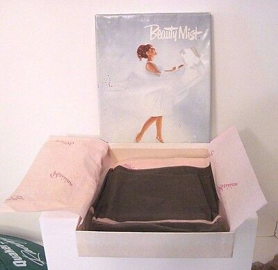 Box of 3 Pairs of Beauty Mist Seamless Stockings, Size Tall, Variety Colors