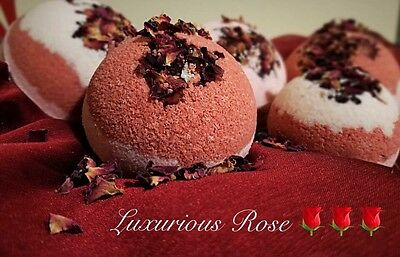Large Set Luxury Fragrant Relaxing Sensual Seductive Moisturizing Bath Bomb