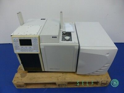 VARIAN Gas Chromatograph CP-3800 3800/3380 Ion Trap Mass Spectrometer 4000MS