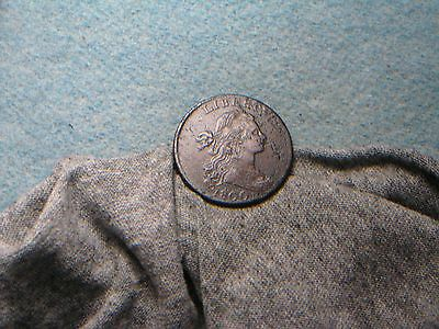 1800 Large Cent!! S-204, R4! XF Detail! (191) CQ at $9000