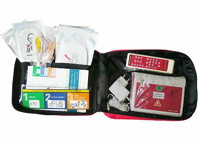 First Aid CPR AED Trainer Automated External Defibrillator Simulator  Italian