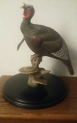 Turkey sculpture by loon lake decoy company crow springs collection