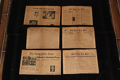 Lot of 6 1932 1936 1957 1958 The Daily Tar Heel Chapel Hill NC Newspapers