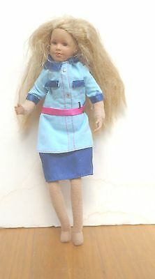 """9"""" Only Hearts Doll. Barbie long Blond hair.  Blue Barbie outfit"""