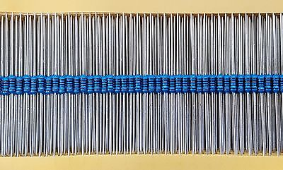 MR25 0.25W 1.2K Ohm (1K2) Metal Film Resistor (100 Pieces)
