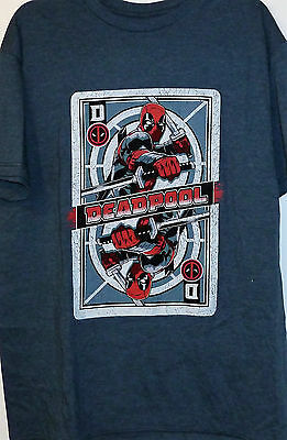 Deadpool T-shirt Graphic Tee  NWT New L Large