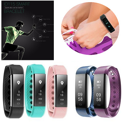 Fitbit Style for Heart Rate Waterproof Fitness Activity Tracker Smart Watch