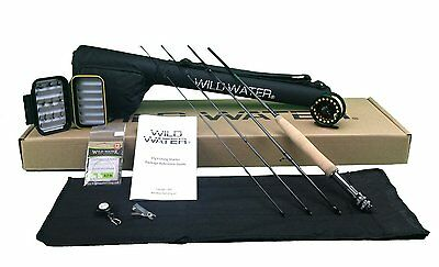 Wild Water Complete 5/6 Fly Fishing Starter Package