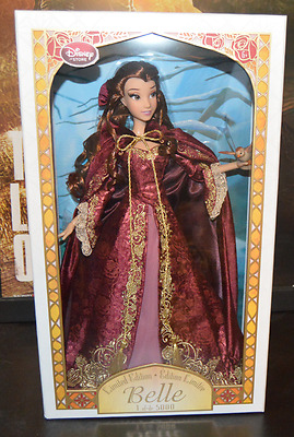 Limited Edition Beauty and the Beast Winter Belle Doll