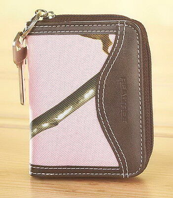 PINK RealTree Camouflage Country Western Women's Zip Around Coin Wallet Purse