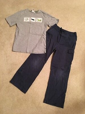 Janie And Jack Boys Top(7) Pants(7) Set Outfit Lot Size 7