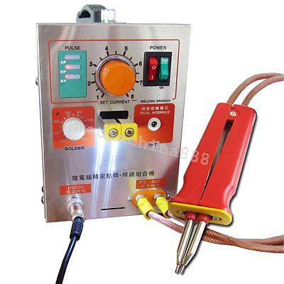 Pulse Spot Welder Battery Welding Soldering Machine flexible + Pen+Nickel strip