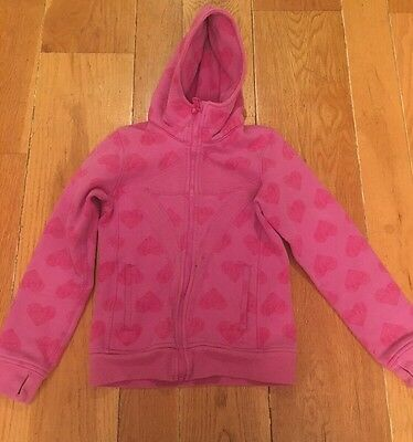 Girls Pink Ivivva Hoodie Sweater/Jacket Size 10