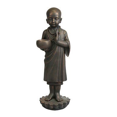 24-Inch Tall Buddha Statue Asking for Alms