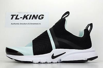 ce1f645012db1 NIKE PRESTO EXTREME GS Youth Black Glacier Blue 870022 002 Msrp $90 Kh