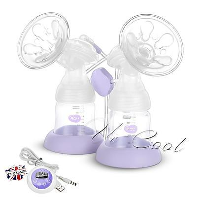 Dual Electric Breast Pump Advanced Baby Core Infant Bottle Feeding Lightweight