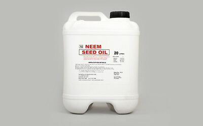 Neem 20L NEEM SEED OIL (42.5 pints)