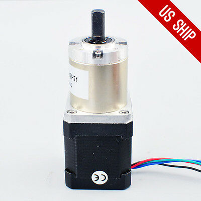 High Torque Nema 17 Stepper Motor With 51:1 Planetary Gearbox CNC Robot