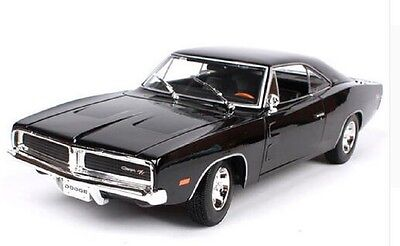Maisto 1:18 1969 DODGE Charger R/T Diecast Model Sports Racing Car NEW IN BOX