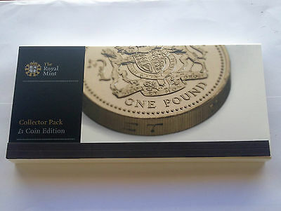 UK Royal Mint 2011 Collector Pack £1 Coin Edition - POUND