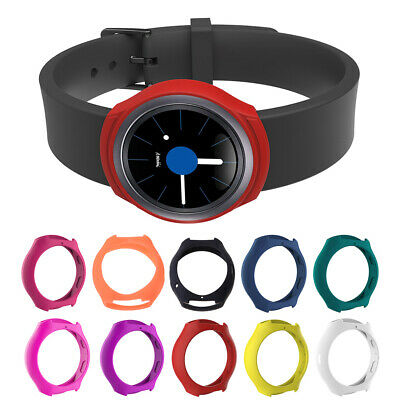 Silicone Case Cover Protector Frame for Samsung Galaxy Gear S2/SM-R720/SM-R73