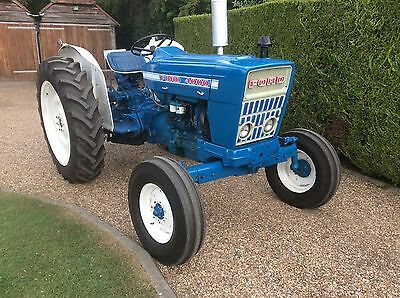 Ford 4000 tractor, 1968 Force Model, Restored Condition