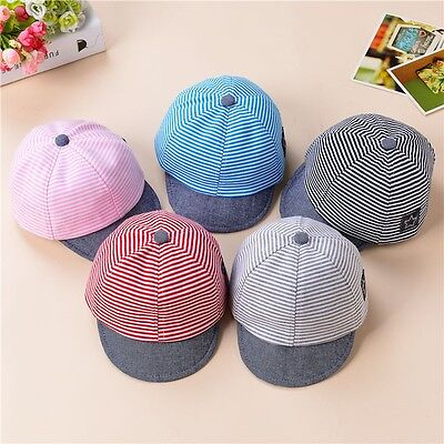 Infant Baby Boy Girl Unisex Cute Cat Beret Baseball Sun Cap Casquette Peaked Hat