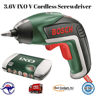 Cordless Screwdriver Electric Charger Case Set Lithium Rechargeable Bosch 3.6V