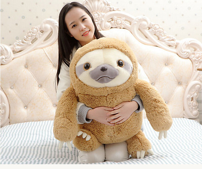 Cute Giant Sloth Stuffed Plush Animal Doll  Soft Toys Pillow Cushion Gift New