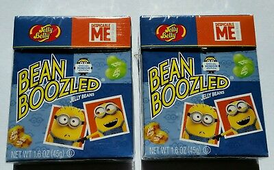 2 x JELLY BELLY BEAN BOOZLED DESPICABLE ME 45g * Fast & Free Post *
