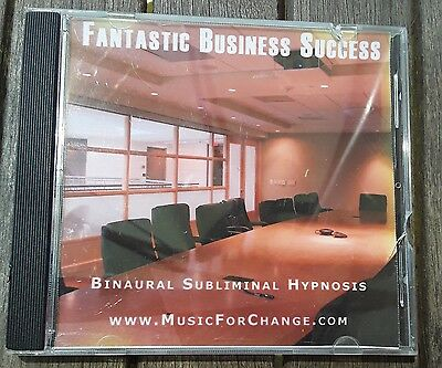 Fantastic Business Success Binaural Subliminal Hypnosis CD Succesful Business