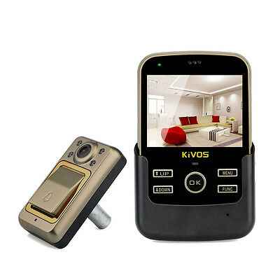 "3.5""  Color LCD TFT Digital Door Viewer Night-Vision Door Eye Peephole Home Safe"