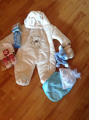 Baby Boy Mixed Gift Bundle 0-6 Months