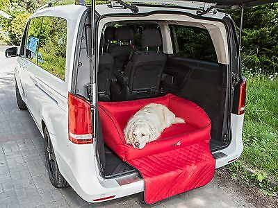 Bolstered Dog Bed Protective Mat Couch Car Boot Trunk Liner and Bumper Protector