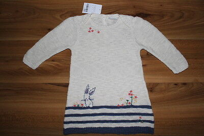 NEXT girls BUNNY knitted dress 9-12 months NEW *I'll combine postage