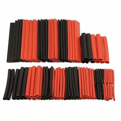 150 Pcs Halogen-Free 2:1 Heat Shrink Tubing Wire Cable Sleeving