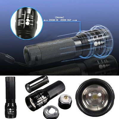 Q5 300Lumens Aaa Zoomable Bicycle Mini Led Flashlight