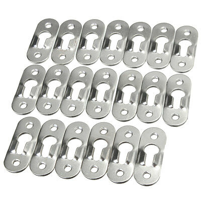 20 Pcs 44Mm Metal Keyhole Hanger Fasteners Picture Photo Painting