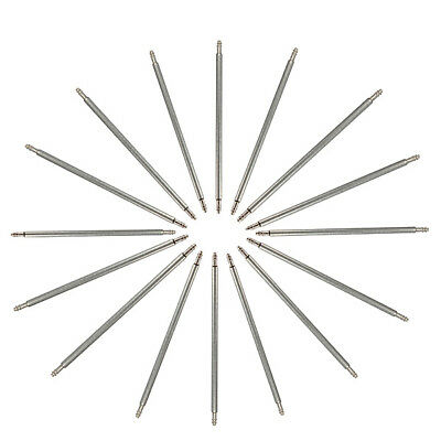 30Pc 8-22Mm Mixed Stainless Steel Watch Band Spring Bar Strap