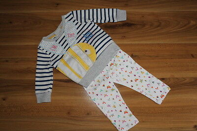 NEXT girls BEE jumper insect jeans bundle 9-12 months *I'll combine postage