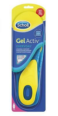 SCHOLL coppia Solette donna GEL ACTIVE EVERYDAY sottopiede